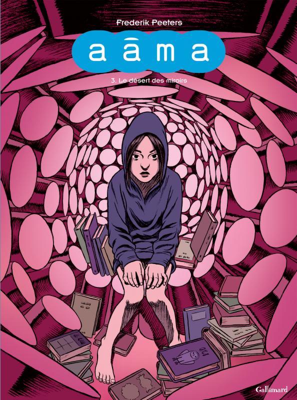 Aâma T3 : Le désert des miroirs (0), bd chez Gallimard de Peeters