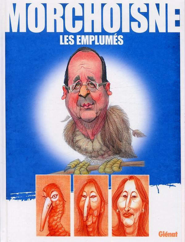 Les Emplumés, bd chez Glénat de Morchoisne