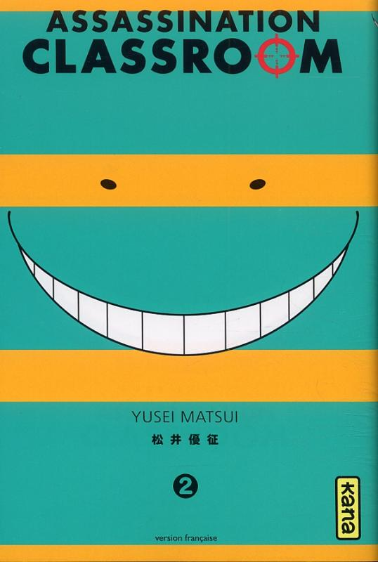 Assassination classroom T2, manga chez Kana de Yusei