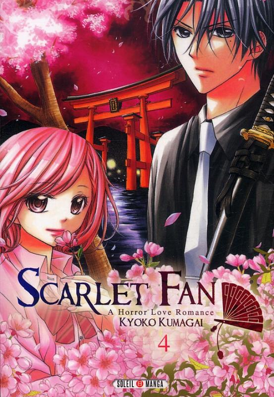 Scarlet fan - a horror love romance  T4, manga chez Soleil de Kumagai
