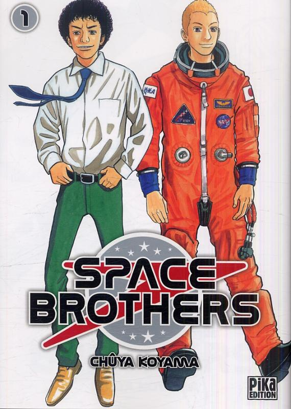 Space brothers T1, manga chez Pika de Koyama