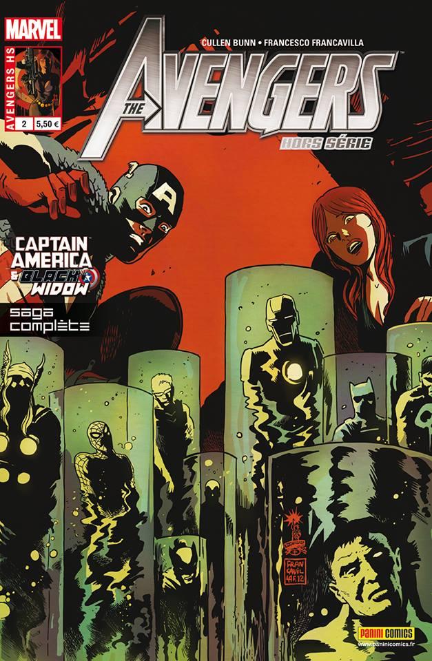 The Avengers (revue) – Hors série, T2 : Captain America & Black Widow - Bienvenue dans le multivers ! (0), comics chez Panini Comics de Bunn, Francavilla