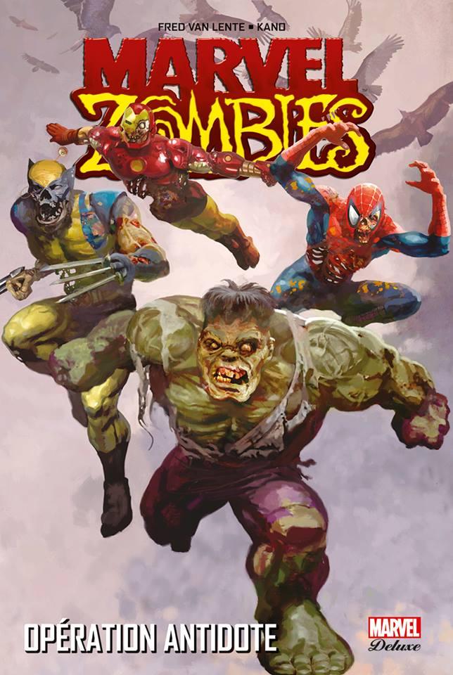 Marvel Zombies T3 : Opération antidote (0), comics chez Panini Comics de Grahame-smith, Maberry, Van Lente, Wellington, Kaluta, Dragotta, Blanco, Ruiz, Brunner, Mutti, Kano, Alexander, Alves, Elson, Loughridge, Milla, Chung, Staples, Guru efx, Suydam