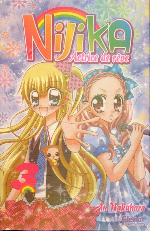 Nijika actrice de rêve T3, manga chez Glénat de Nakahara