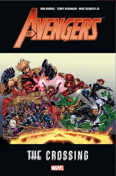 The Avengers - The Crossing, comics chez Panini Comics de Harras, Abnett, Lanning, Collectif, Cheung, Deodato Jr