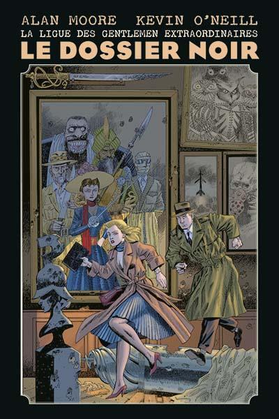 La ligue des gentlemen extraordinaires : Le dossier noir (0), comics chez Panini Comics de Moore, O'Neill