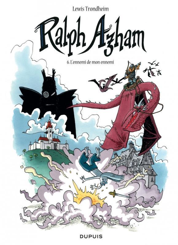 Ralph Azham – cycle 2, T6 : L'ennemi de mon ennemi (0), bd chez Dupuis de Trondheim, Findakly
