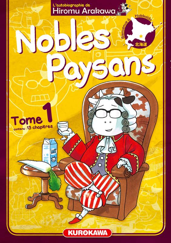 Nobles paysans T1, manga chez Kurokawa de Arakawa
