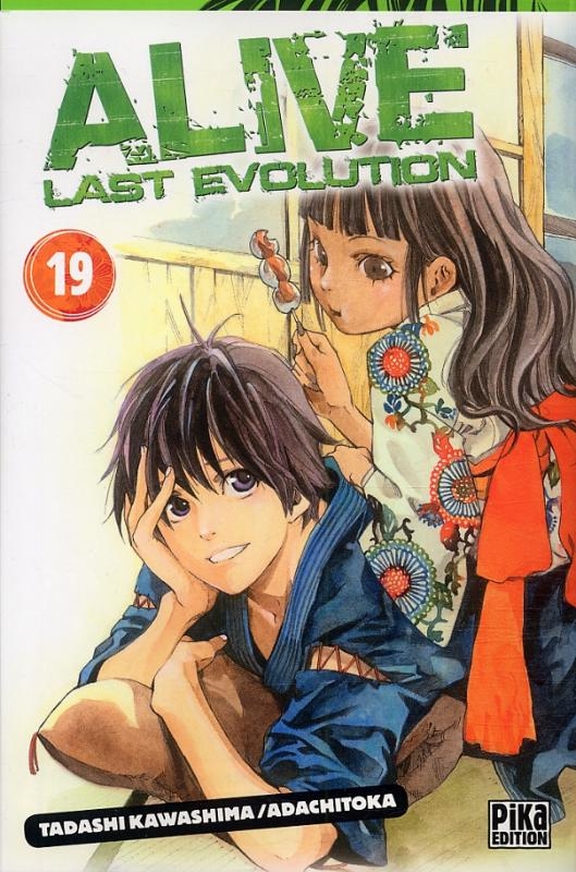 Alive - Last evolution  T19, manga chez Pika de Adachi, Kawashima