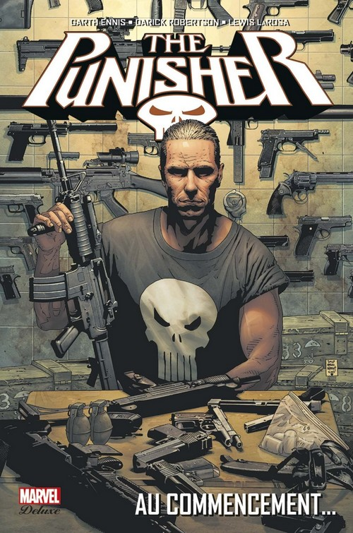 The Punisher (vol.7) T1 : Au commencement (0), comics chez Panini Comics de Ennis, Larosa, Robertson, Mounts, White, Bradstreet
