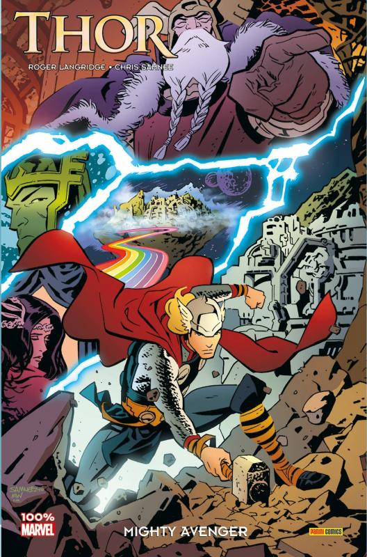 Thor : Mighty Avenger (0), comics chez Panini Comics de Langridge, Samnee, Wilson