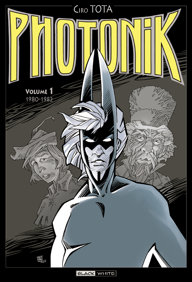 Photonik T1 : 1980-1982 (0), comics chez Editions Black & White de Tota, Mitton