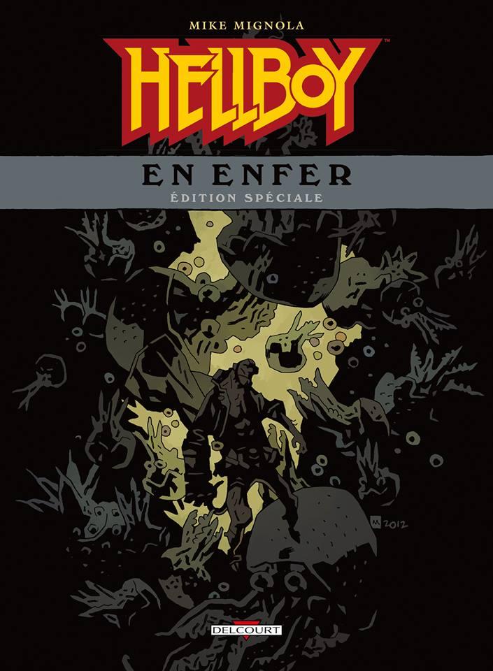 Hellboy en Enfer T1 : Edition spéciale (0), comics chez Delcourt de Mignola