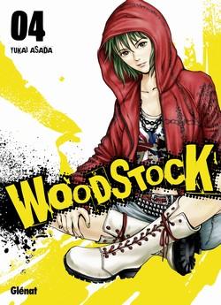 Woodstock T4, manga chez Glénat de Asada