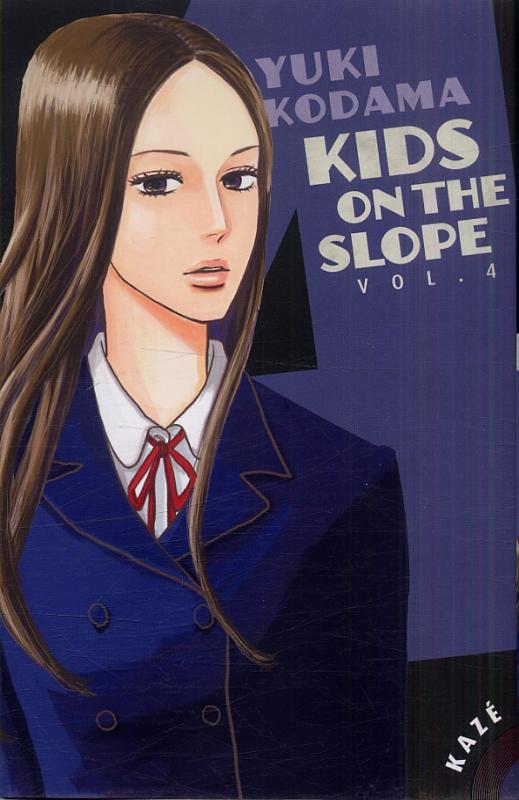 Kids on the slope T4, manga chez Kazé manga de Kodama