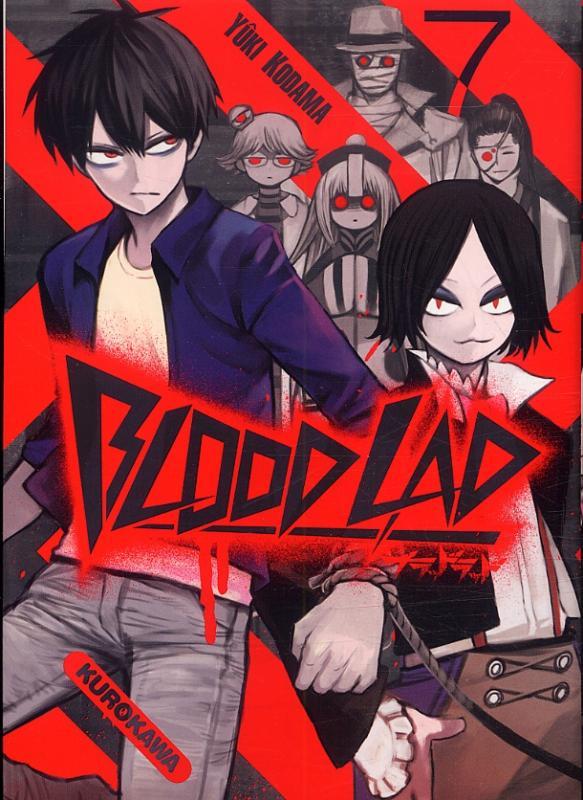 Blood lad T7, manga chez Kurokawa de Kodama