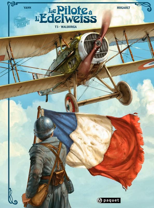Le Pilote à l'Edelweiss T3 : Walburga (0), bd chez Paquet de Yann, Hugault