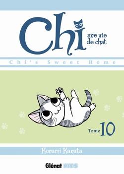 Chi - une vie de chat T10, manga chez Glénat de Konami