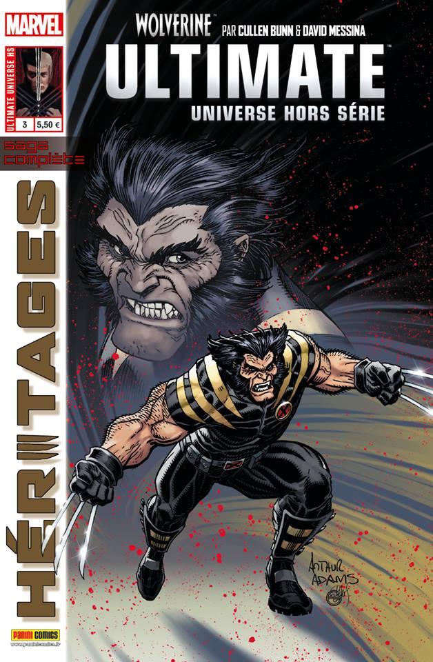 Ultimate Universe – Hors série, T3 : Héritages (0), comics chez Panini Comics de Bunn, Messina, Tartaglia, Adams