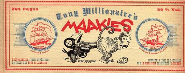 Maakies T1 : Protomaakies (0), comics chez Rackham de Tony Millionaire