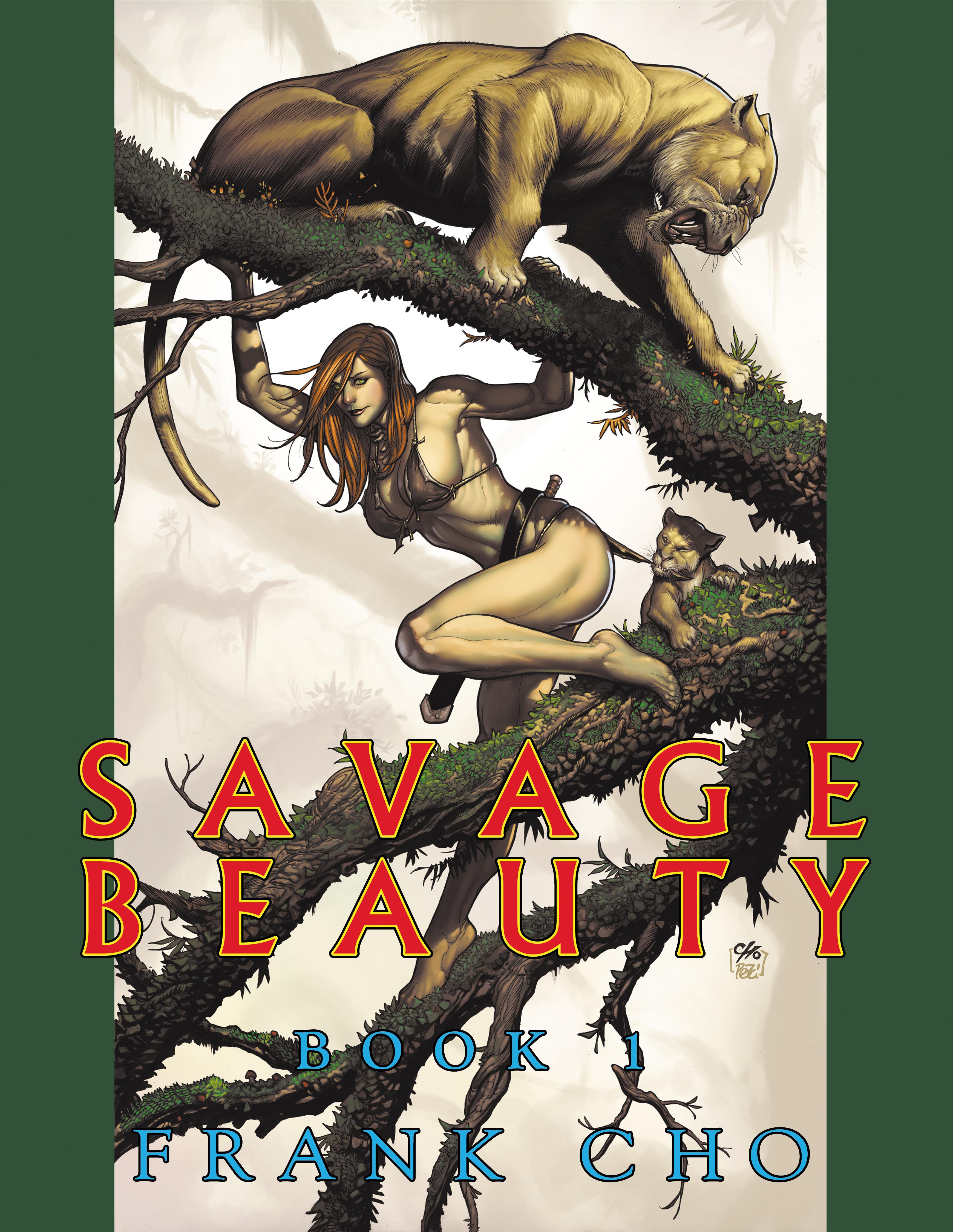 Savage Beauty T1, comics chez Monkey Boy Press de Cho