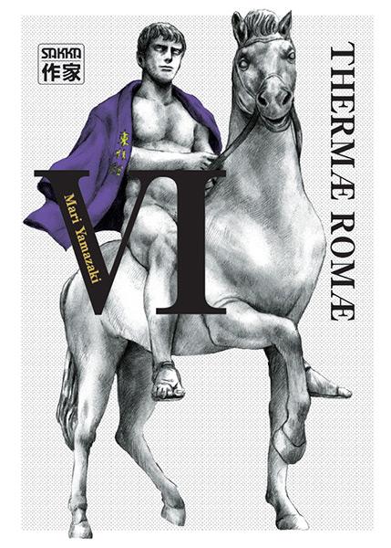 Thermae Romae T6, manga chez Casterman de Yamazaki