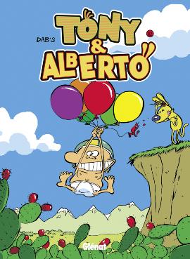 Tony et Alberto T12 : Panik dermik (0), bd chez Glénat de Dab's, Borèv