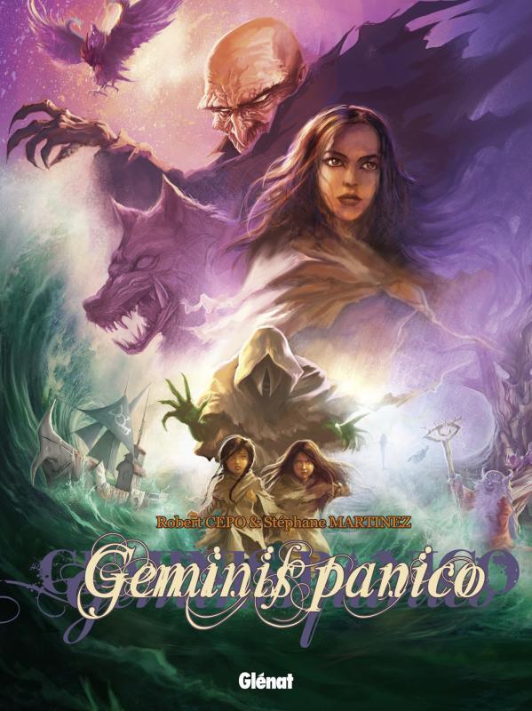 Geminis panico T2 : Quand les enfants sauveront le monde (0), bd chez Glénat de Cepo, Martinez