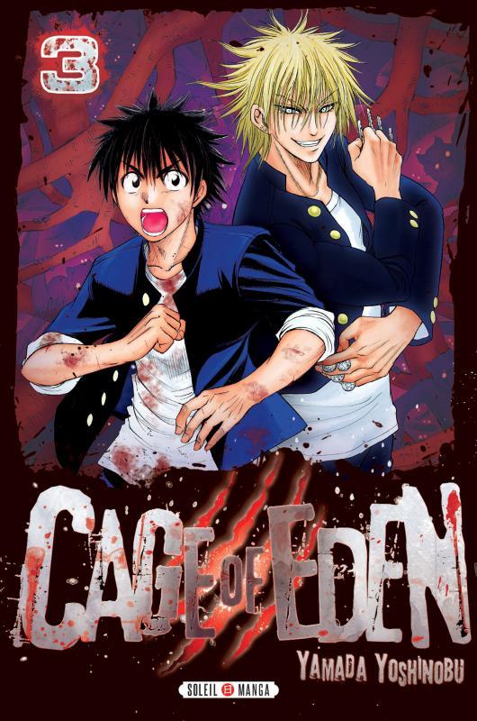 Cage of eden T3, manga chez Soleil de Yamada