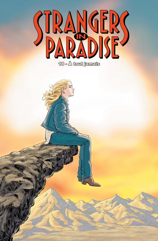 Strangers in paradise – cycle , T18 : A tout jamais (0), comics chez Kyméra de Moore