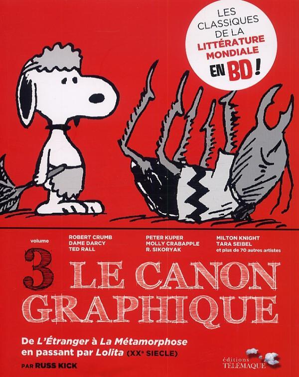 Le  canon graphique T3 : De l'Etranger à la Métamorphose en passant par Lolita (0), comics chez Editions Télémaque de Collectif