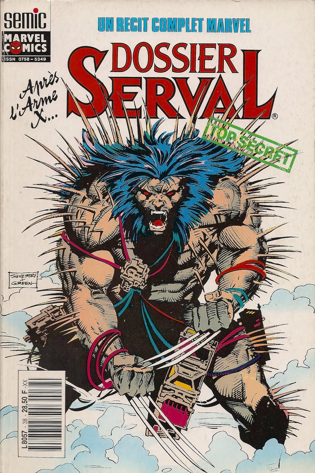 Dossier Serval, comics chez Semic de Hama, Silvestri