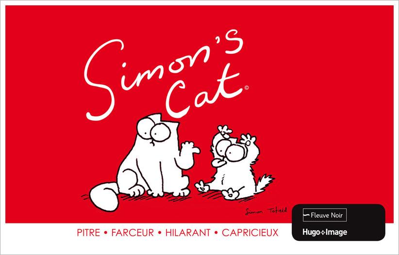 Simon's cat, bd chez Hugo BD de Tofield