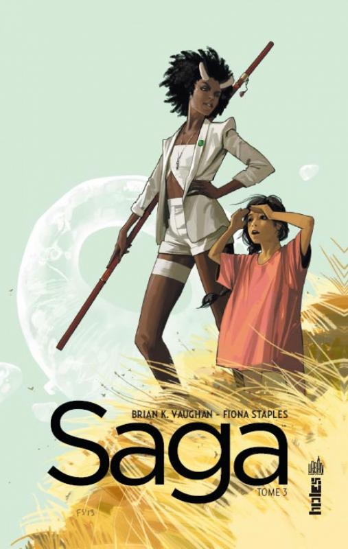Saga T3, comics chez Urban Comics de Vaughan, Staples