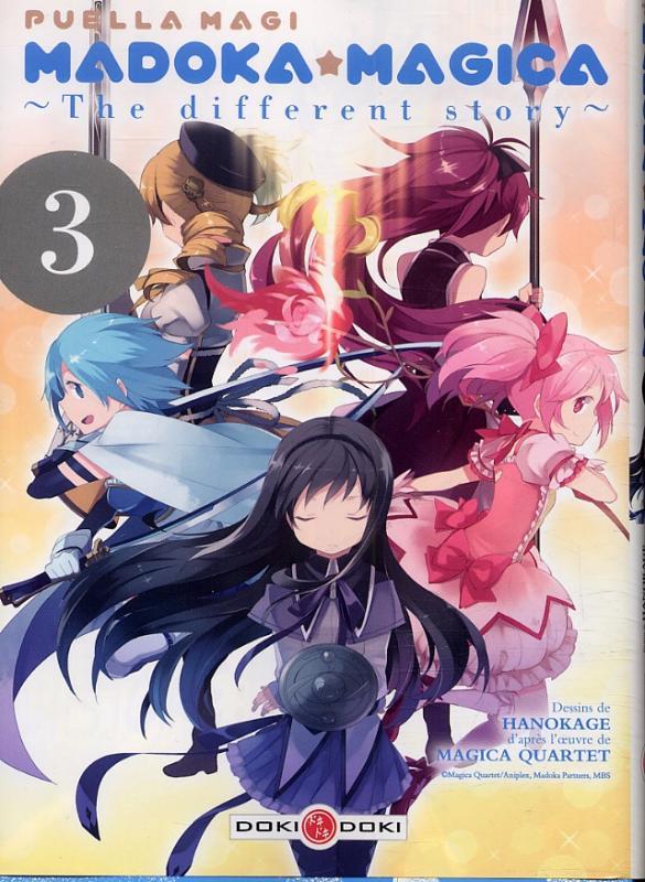 Puella magi Madoka magica - the different story T3, manga chez Bamboo de Magica Quartet, Hanokage