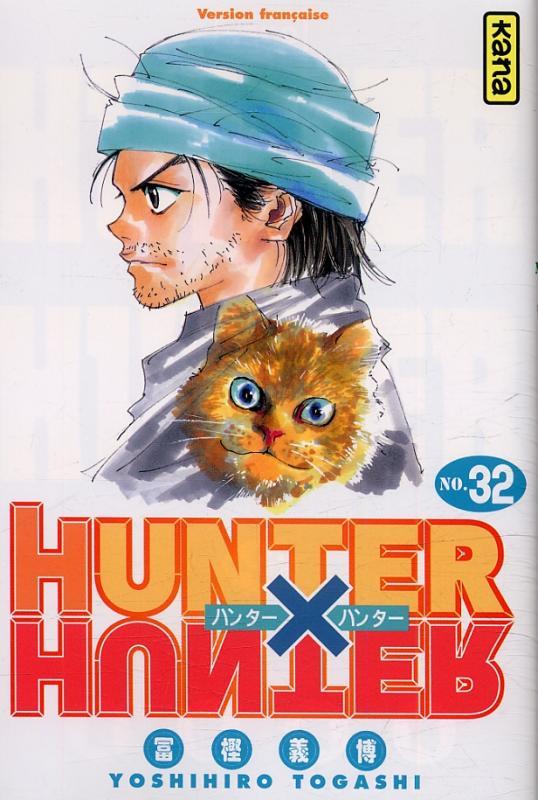 Hunter x Hunter T32, manga chez Kana de Togashi