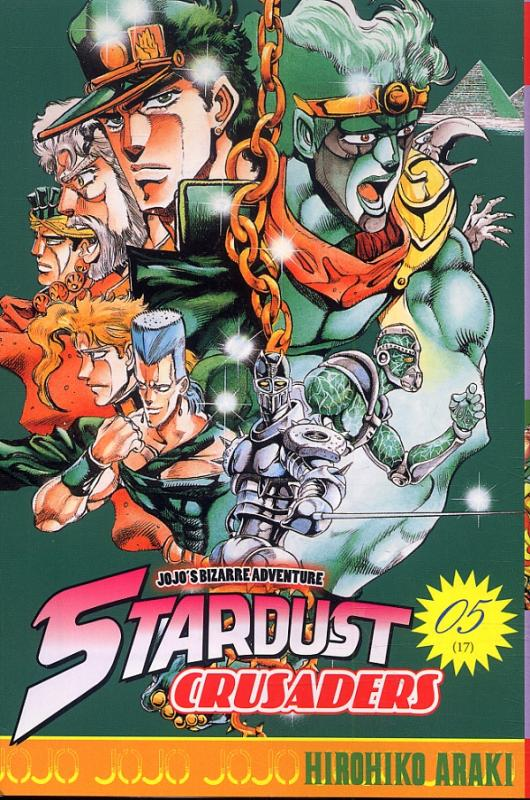 Jojo's Bizarre Adventure - Stardust crusaders T5, manga chez Tonkam de Araki