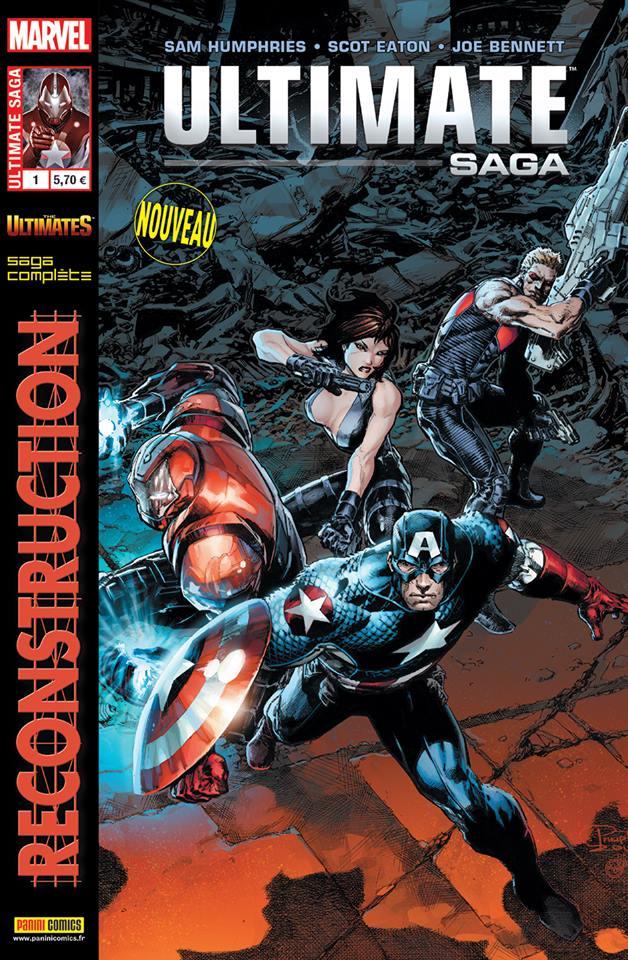 Ultimate Saga T1 : Reconstruction (0), comics chez Panini Comics de Humphries, Eaton, Bennett, Troy, Milla, Tan