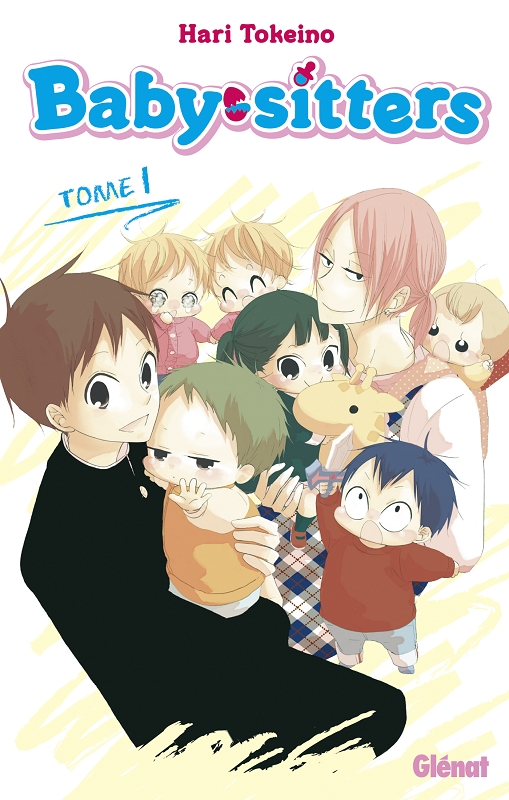Baby sitters T1, manga chez Glénat de Tokeino