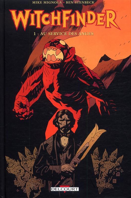 Witchfinder T1 : Au service des anges (0), comics chez Delcourt de Allie, Reynolds, Stenbeck, Stewart, Mignola