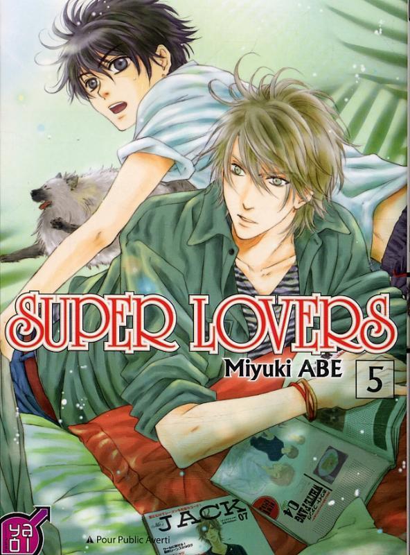 Super lovers T5, manga chez Taïfu comics de Abe
