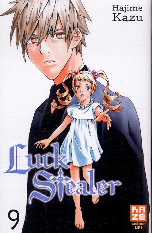 Luck stealer T9, manga chez Kazé manga de Kazu
