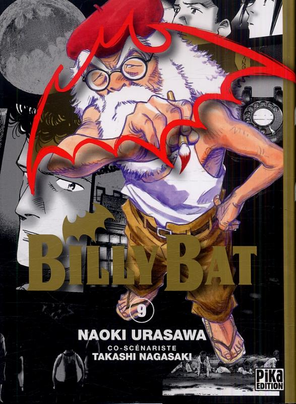 Billy Bat T9, manga chez Pika de Nagasaki, Urasawa