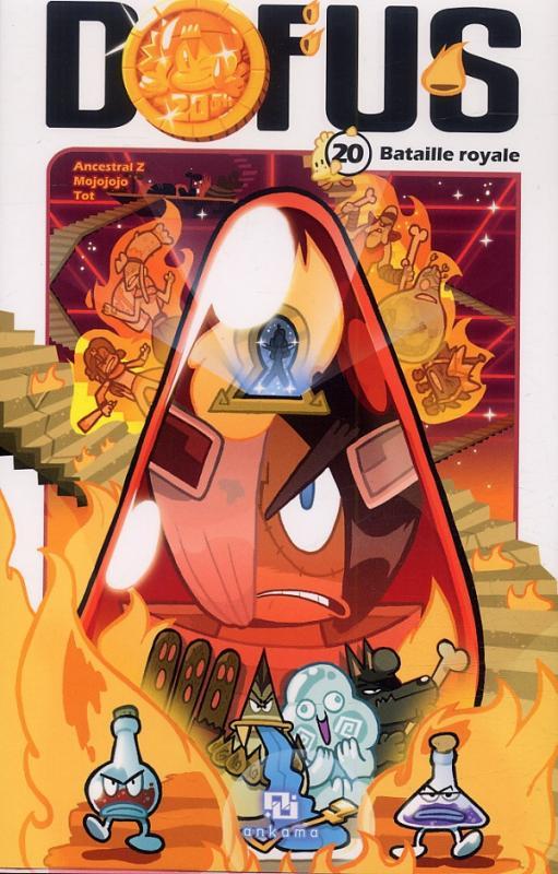 Dofus T20 : Bataille royale (0), manga chez Ankama de Tot, Ancestral z, Mojojojo