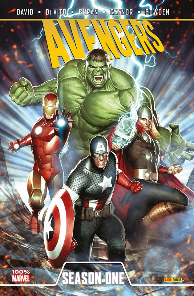 Season One : Avengers (0), comics chez Panini Comics de David, Raynor, Bowden, Di Vito, Buran, Wong, Granov