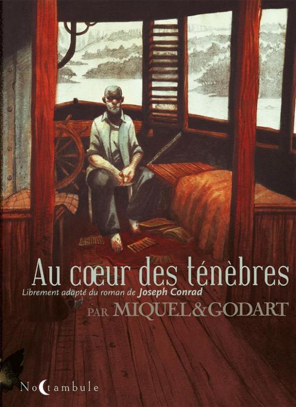 Au coeur des ténèbres, bd chez Soleil de Miquel, Godart