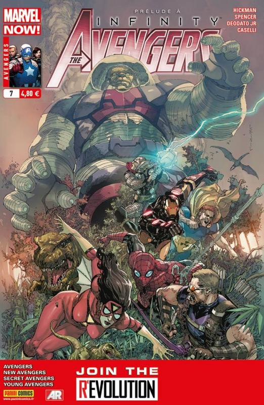 The Avengers (revue) – V 4, T7 : Fort (0), comics chez Panini Comics de Hickman, Spencer, Gillen, Caselli, McKelvie, Guice, Deodato Jr, Martin, Wilson, Yu