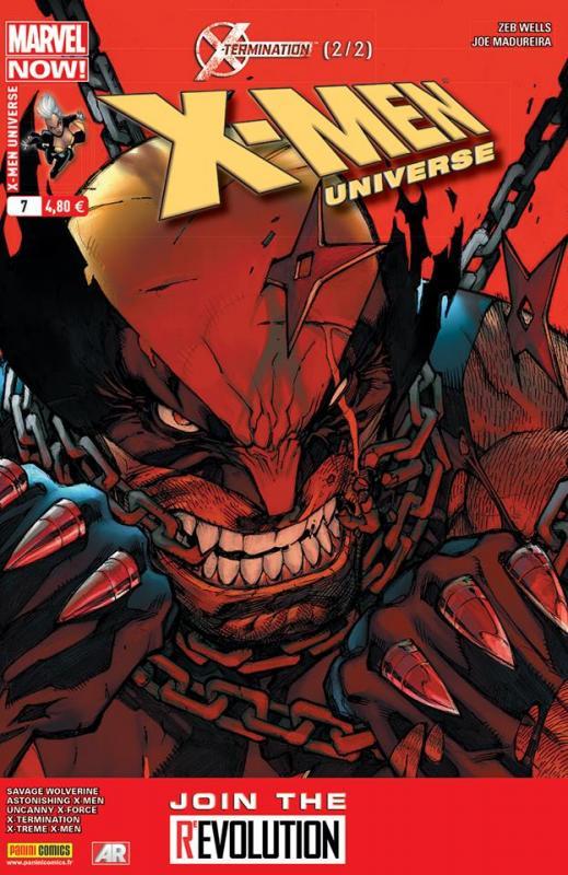 X-Men Universe – Revue V 3, T7 : X-Termination (2/2) (0), comics chez Panini Comics de Wells, Lapham, Pak, Humphries, Liu, Soy, Madureira, DeMoura, Lopez, Mogorron, Buffagni, Arlem, Valdes, Alphona, Cuevas, Lolli, Mossa, Loughridge, Steigerwald, Sotomayor, Curiel