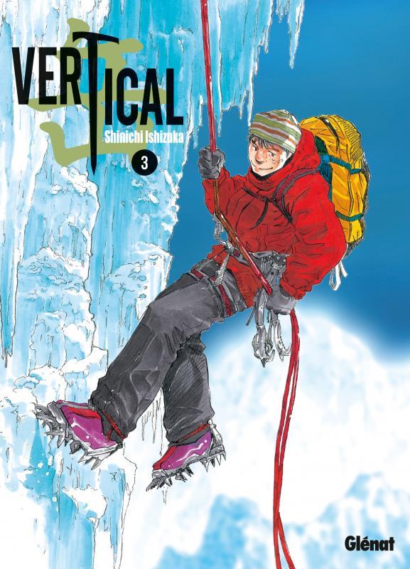 Vertical T3, manga chez Glénat de Ishizuka
