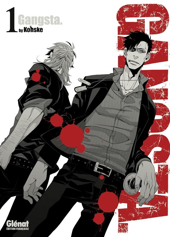 Gangsta T1, manga chez Glénat de Kohske